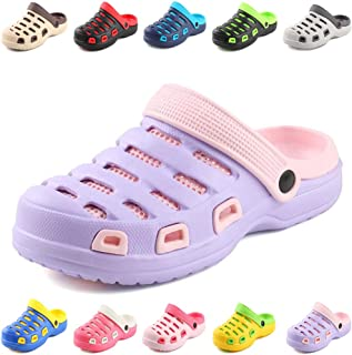 Sisttke Mens Garden Clogs Unisex Ultra-Light Mules Sandals Womens Beach Casual Slippers Available in 10 Colors