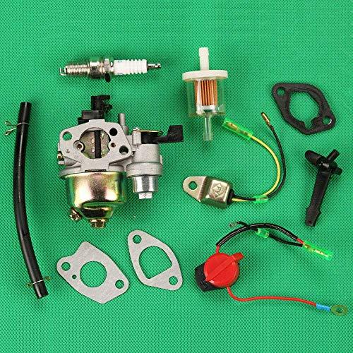WPLHH Piezas de repuesto para carburador Huq Carburador para Honda Gx110 Gx120 Gx140 Gx160 Gx200 interruptor de encendido/apagado Carburador