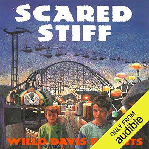 Scared Stiff audiobook cover art
