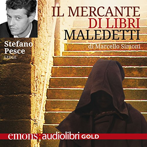 Il mercante di libri maledetti audiobook cover art
