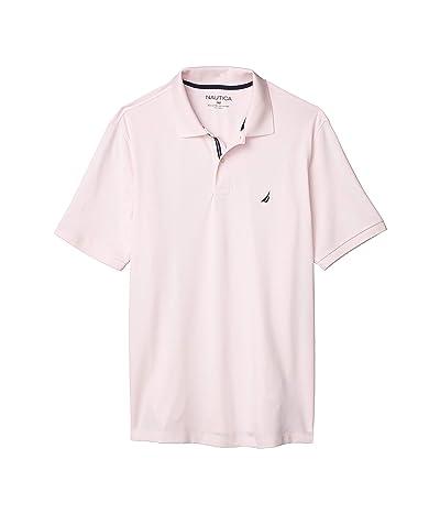Nautica Big & Tall Big Tall Short Sleeve Solid Deck Shirt (Pink) Men