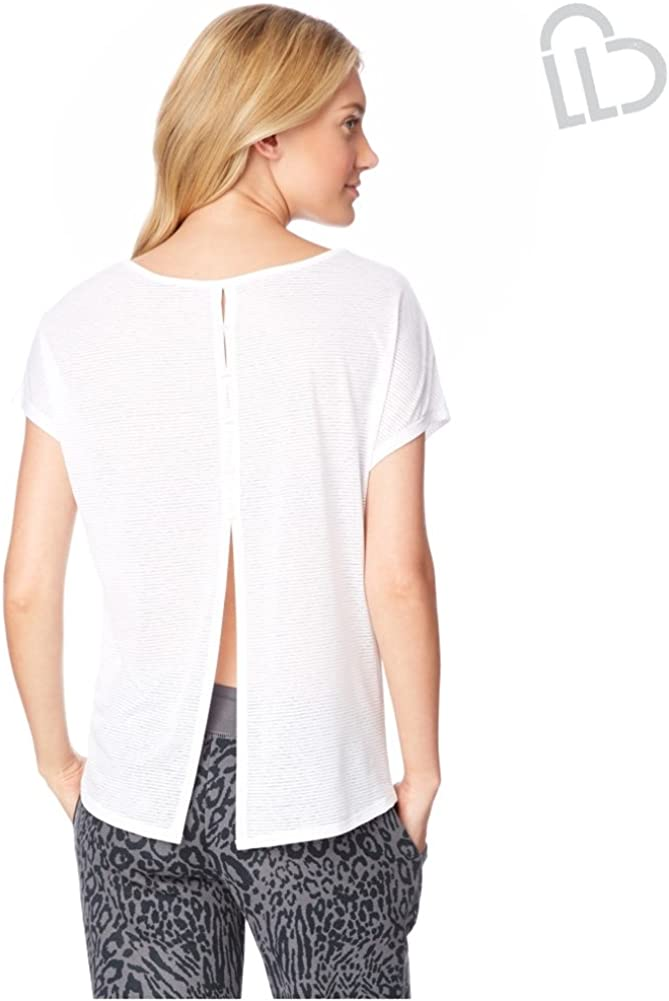 AEROPOSTALE Womens Striped Cocoon Embellished T-Shirt