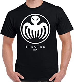 TeeWham James Bond Spectre Logo Adult T-Shirt
