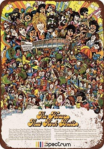 SIGNCHAT 1974 Philadelphia Spectrum Conciertos de Rock - Letrero de Me