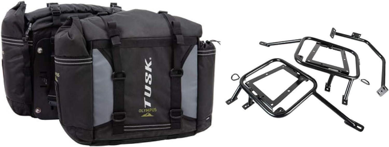 Tusk OLYMPUS New sales Dual Sport Ranking TOP1 Adventure Pannier with Motorcycle Bags T
