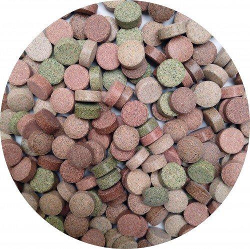 AQUARISTIK-PARADIES Futtertabletten 14-Sorten-Mix 750 g (ca. 1.000 ml)