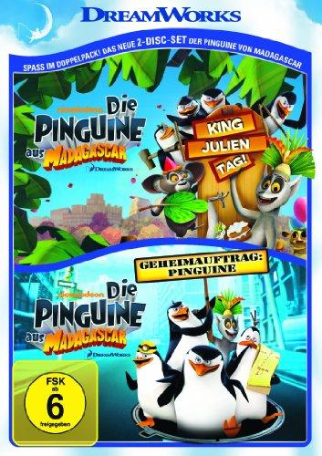 Die Pinguine aus Madagascar: King Julien Tag & Geheimauftrag: Pinguine (2 DVDs)