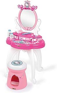Hello Kitty Tocador con Taburete, 10 Accesorios, Color (Smoby 320239)