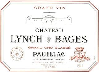 CHÂTEAU LYNCH BAGES 1990, Pauillac - 5ème Cru Classé - (Etiqueta dañada)