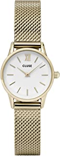 Cluse Womens Analogue Classic Quartz Watch with Stainless Steel Strap CL50007
