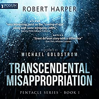 Transcendental Misappropriation     Pentacle Series, Book 1              By:                                                                                                                                 Robert Harper                               Narrated by:                                                                                                                                 Michael Goldstrom                      Length: 11 hrs and 22 mins     70 ratings     Overall 4.5