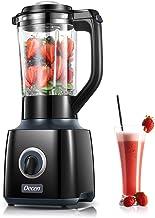 Decen Blender Smoothie Mixeur, 700W Blender Multifonction avec Vitesses Réglables et Bol en Verre 1.5 L pour Jus de Fruits...