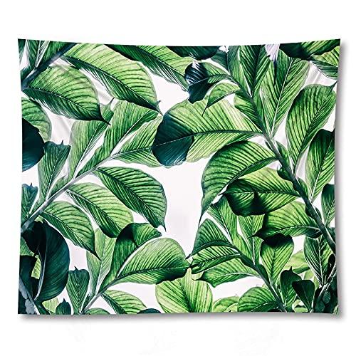 Pianta Verde Stampa tappetino Yoga Wall Art arazzo decorazione Della casa sfondo coperta di stoffa arazzo A1 130x150cm