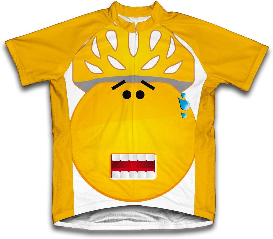 ScudoPro Surprised Ranking TOP20 Short Sleeve Cycling for Youth Houston Mall Jersey