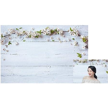 Waw Stoff Fotohintergrund Blume Grau Grunge Holzwand Kamera