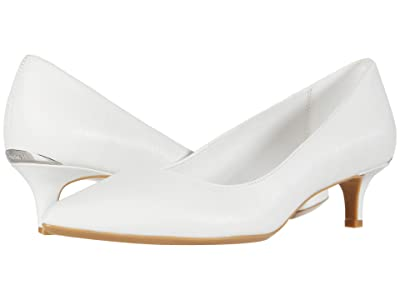 Calvin Klein Gabrianna Pump (White) Women