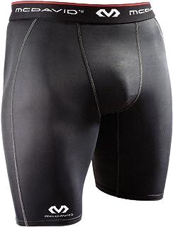 McDavid Compression Shorts, Black, Large