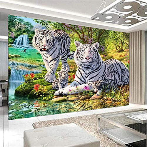 diamond painting 60x50 Nicole Knupfer 5D DIY Diamond Painting Set fai da te con strass a forma di tigre
