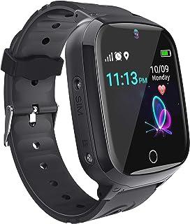 comprar comparacion Relojes para Ninos GPS Tracker Inteligente- Smartwatch Niños GPS LBS Localizador SOS Voz Chat Cámara Pantalla Táctil HD Ni...