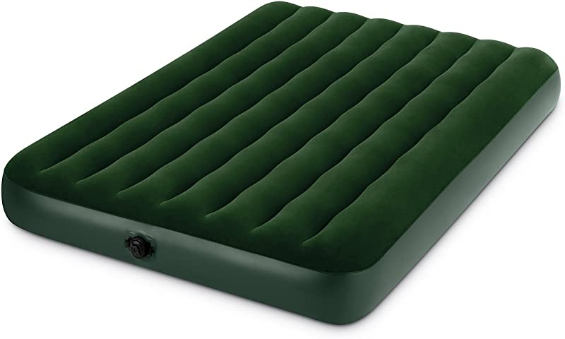 Intex Prestige Downy Airbed Kit With Hand Held Battery Pump Full