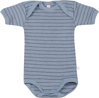 Dilling Baby Body Kurzarm aus 100% Bio-Merinowolle