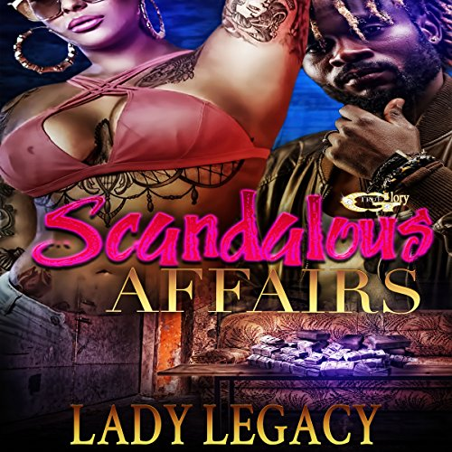 Scandalous Affairs audiobook cover art