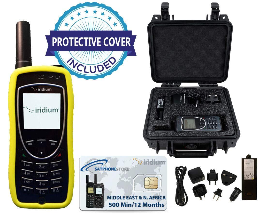 Iridium 9575 Extreme - Teléfono satélite (paquete de lujo, con estuche de Pelican y prepago): Amazon.es: Electrónica