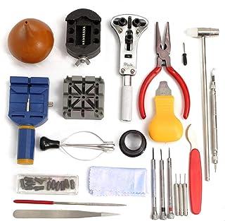 SUPVOX 23 pezzi kit di strumenti per la riparazione di orologi Set di strumenti professionali per barra a molla Strumento ...