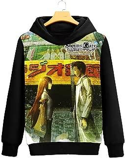 GO2COSY Anime Steins Gate Cosplay Kurisu Makise Jacket Sweatshirt Fleeces Costume Hoodie