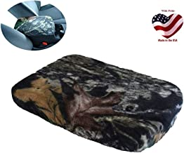 Car Console Covers Plus Made in USA fits Nissan Frontier 2015-2019 Fleece Center Armrest Cover for Center Console Lid Mossy Oak
