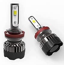 T-BULL LED H11 Headlight Bulbs with Bult-in Canbus 3 Colors Flashlight Lamp,Extrem Bright Light Bulb 6000K/4300K/3000K