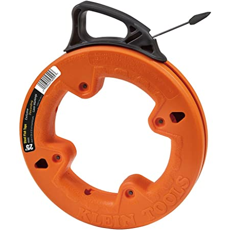 NYLON FISH TAPE WIRE PULLER 50 feet MISSING END TIPS