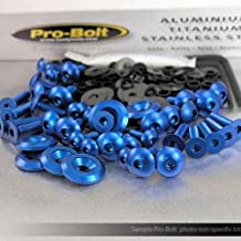Pro Bolt Fairing Aluminum Bolt Kit - Blue FHO098-B