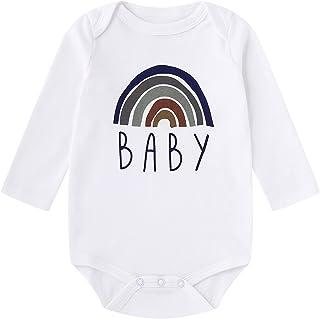 YAYAZAN Baby Infant Toddler Onesies Bodysuits LGBT Rainbow Power Newborn Baby New Print Jumpsuit Playsuit Outfits