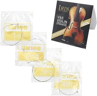 Kalaok Universal Juego Completo (E - A - D - G) Violín Cuerda Cuerdas de Acero Níquel-plata Herida con Extremo de Bola Niquelado para 4/4 3/4 1/2 1/4 Violines