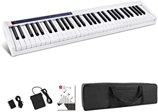 Vangoa VGD611 Piano Keyboard 61 Keys, Touch Sensitive Portab