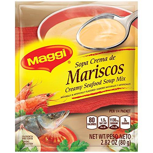 Maggi Creamy Seafood Soup Mix, 2.82 oz