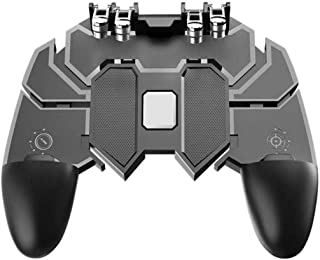 TheEasyShop The Easy Shop PU GB Mobile Game Controller Joystick Gamepad Metal L1 R1 Button for iOS and Android Joystick  Bl...