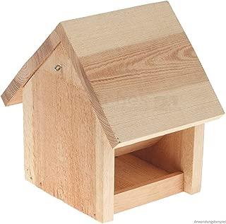 Vogelhaus Futterautomat 30x20x20 cm Holz Kinder Bausatz Werkset Bastelset ab 11