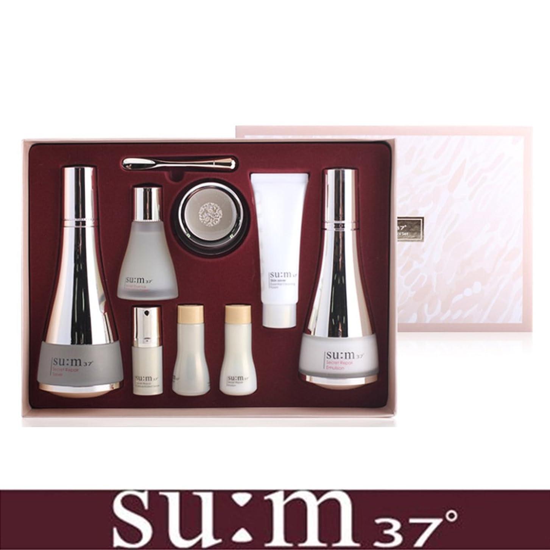 内向き閉じる泣く[su:m37/スム37°] SUM37 Secret Repair 3pcs Special Skincare Set / シークレットリペア3種セット+[Sample Gift](海外直送品)