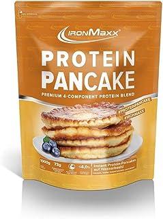 IronMaxx Protein Pancake Vanille - 1000g - 20 Portionen - Low Carb Pancakes mit über 65% Eiweiß - Leckere Pfannkuchen-Backmischung mit 4-Komponenten Protein - Designed in Germany