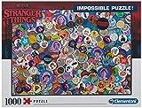 Clementoni- Puzzle 1000 Piezas Impossible Strange Things, Multicolor (39528.6)