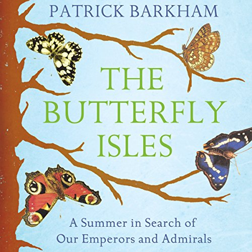 The Butterfly Isles audiobook cover art