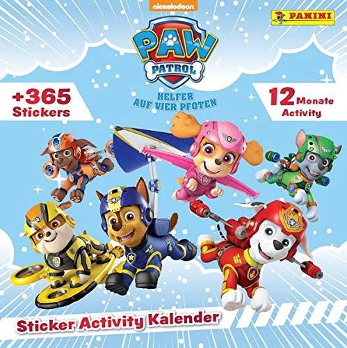 PAW Patrol: Sticker Activity Kalender: Immerwährender Kalender mit 365 Stickern zum Selbstgestalten