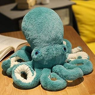 ねむねむ タコ 蛸 抱きまくら 抱き枕 クッション ニット ぬいぐるみ もちもち ふわふわ フワフワ 65cm 触り心地 かわいい プレゼント ギフト ネムネム Lサイズ アニマル ぬいぐるみ グリーン