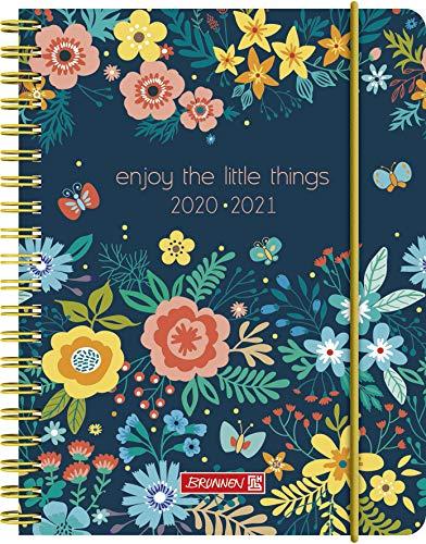 "BRUNNEN 1071850141 ""Little Things"", Wochenkalender/Schülerkalender 2020/2021, 2 Seiten = 1 Woche , Blattgröße 12 x 16 cm , A6 , PP-Einband"