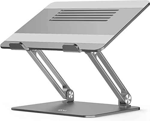 EPN Adjustable Laptop Stand, Laptop Riser with Heat-Vent to Elevate Laptop, Aluminum Notebook Holder Compatible for M...
