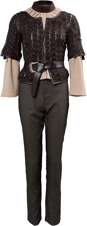 bienvenido a comprar rojoJade rojoJade rojoJade Got Juego of Thrones Arya Estrellak Outfit Traje de CosJugar Damas XL  ahorra 50% -75% de descuento