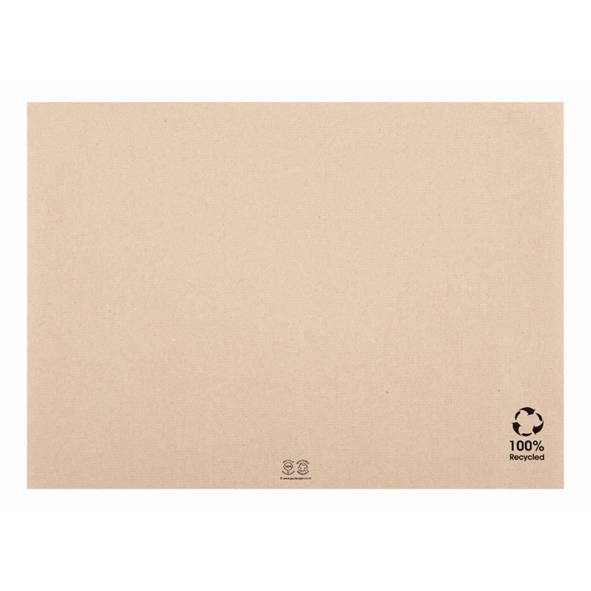 García de Pou Mantelines, Papel Reciclado, natural, 31x43 cm, 500
