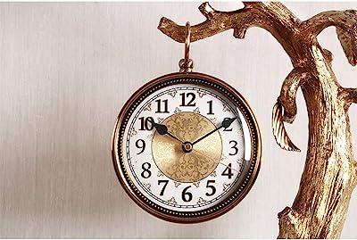 BuyBuyBuy Reloj De Mesa De Resina De Bronce De Árbol Grande Retro ...